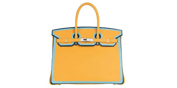 Birkin di Hermès, la primavera bicolore