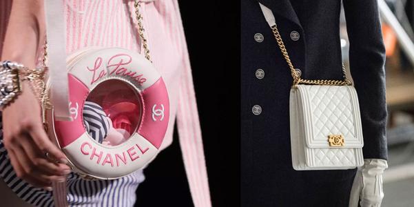 dba9e0e651 La nuova collezione Cruise 2019 di Chanel non nasconde uno spirito  decisamente navy che sulle borse è quanto mai evidente. I riferimenti  marinari sono ...