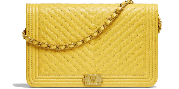 Chanel Boy nella variante wallet on chain