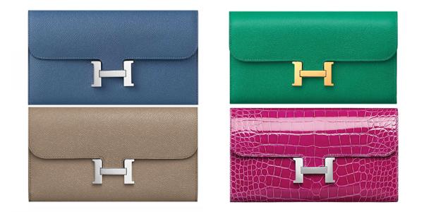 Constance Long Wallet di Hermès