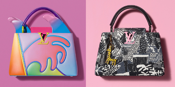 Louis Vuitton lancia la nuova collezione di Arty Capucines