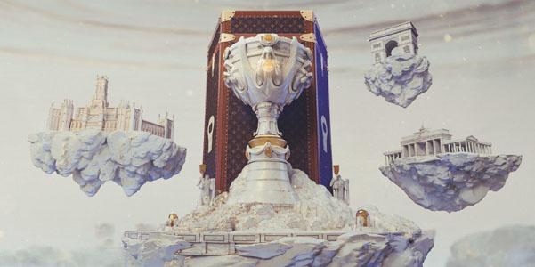 Louis Vuitton disegna la valigia della coppa League of Legends