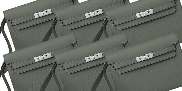 Clutch Hermès Kelly Depeches