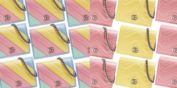 Marmont Card Case Wallet di Gucci Pre-Fall 2020