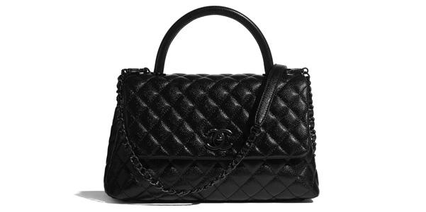 Coco Handle di Chanel in pelle Caviar