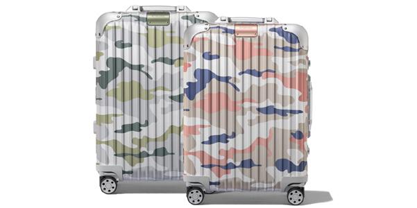 Rimowa Camouflage, le valigie in alluminio si fanno mimetiche