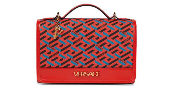 Tracolla La Greca Signature di Versace, come una cartella