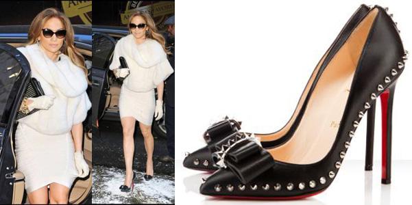 ca99071d49d6 Jennifer Lopez e le borchie di Loubie