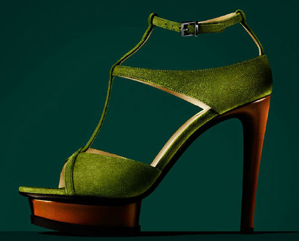 Armani sandalo verde