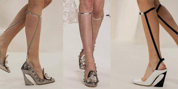 scarpe Dior couture 2014
