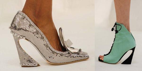 scarpe Dior haute couture 2014