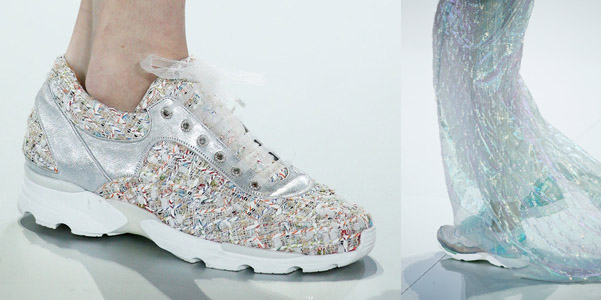 sneakers Chanel couture 2014