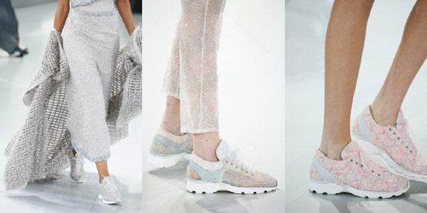 sneakers Chanel haute couture 2014