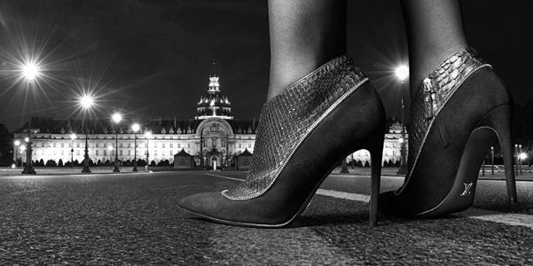 Vuitton zip shoes