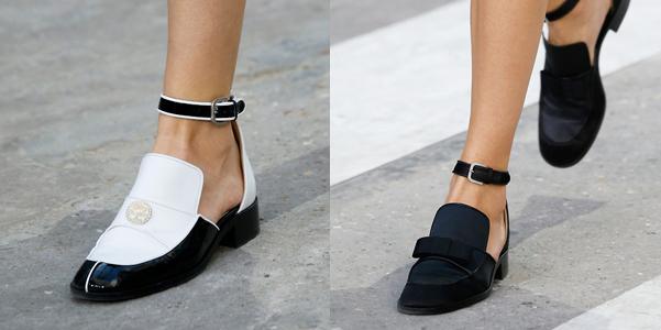 Mocassini Chanel pe 2015