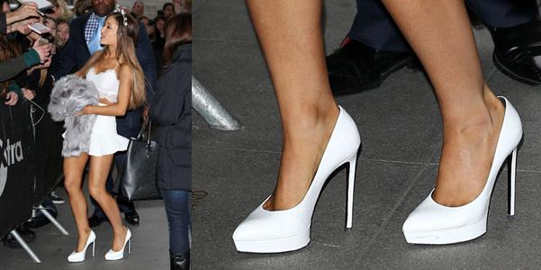 Ariana Grande in Saint Laurent 8e655472a3f