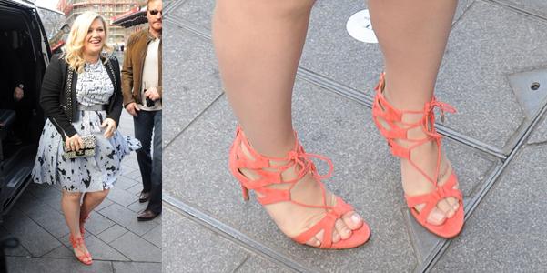 Kelly Clarkson Aquazzurra Beverly Hills