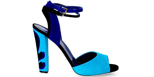 sandali blu sergio rossi