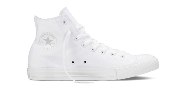 converse all star bianche donna