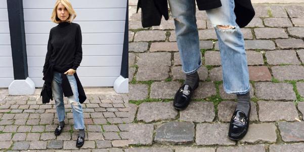 mocassini gucci fashion blogger