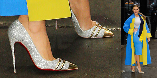 blake lively double front louboutin