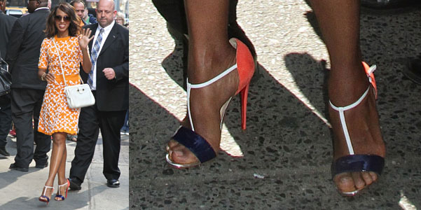 kerry washington true blue louboutin