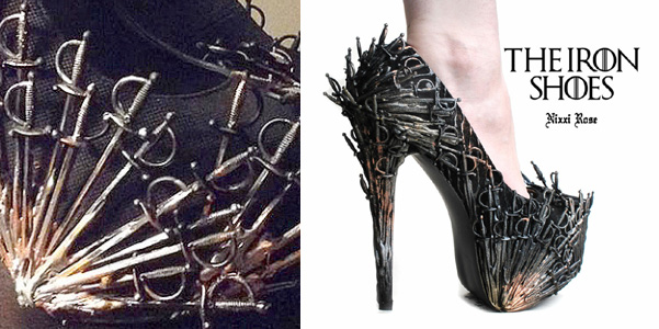 scarpe game of thrones