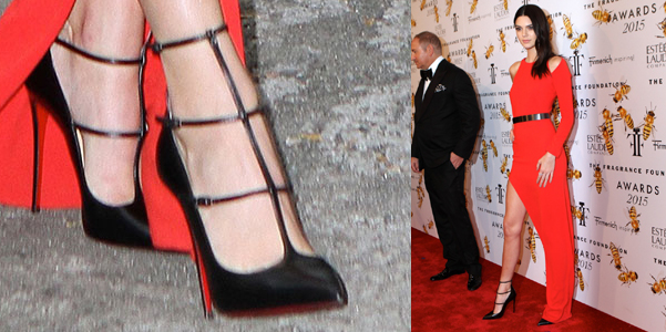 kendall jenner torless muse louboutin