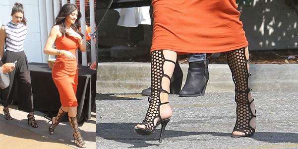 kylie jenner sandali tamara mellon