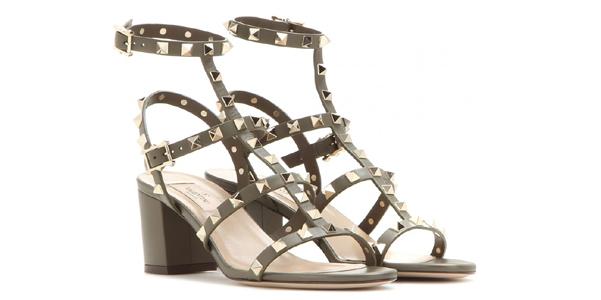 nuovi sandali rockstud valentino