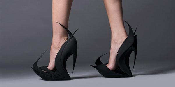 scarpe 3D united nude