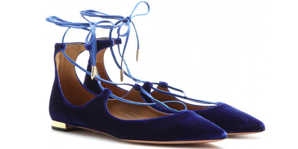 ballerine christy aquazzurra
