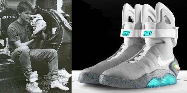 scarpe nike mag auto-allaccianti ritorno al futuro