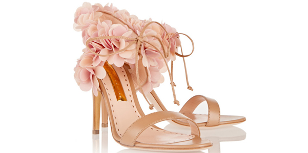 sandali fiori Rupert Sanderson