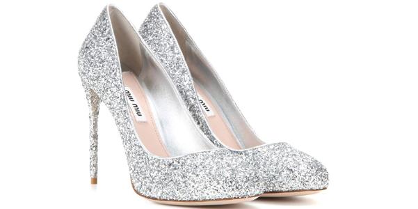 Scarpe Sposa Miu Miu.Le Nuove Decolletes Glitter Di Miu Miu