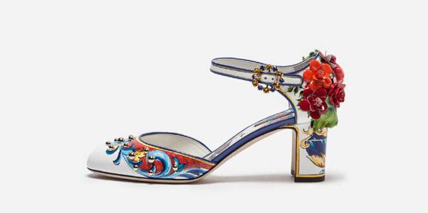 Scarpe Di Gabbana Dolce A Maiolica Le Stampa E PIqdPpU