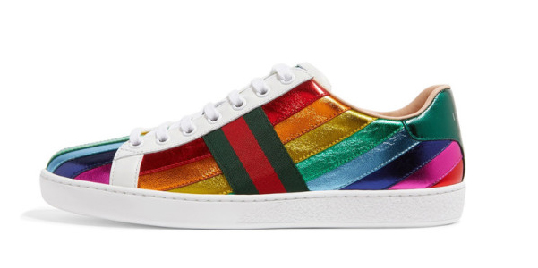 reputable site f29a5 bd60a Sneakers Ace di Gucci arcobaleno