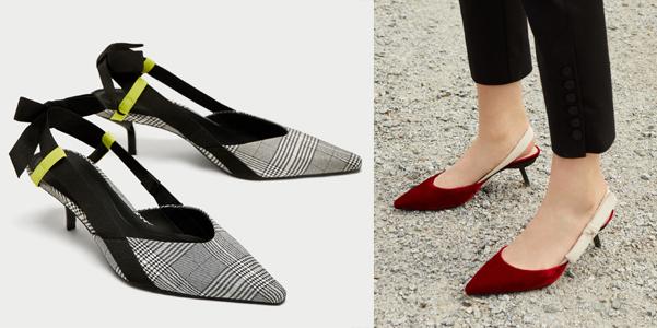 Le slingback di Mango e Zara ispirate a Dior