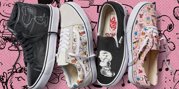 Vans e Peanuts, la nuova collezione di sneakers