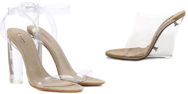 I sandali invisibili di Yeezy