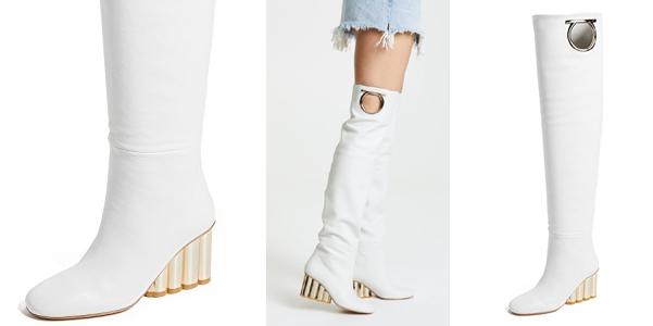 Stivali con oblò di Ferragamo