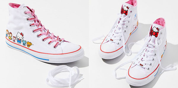 Le nuove Converse di Hello Kitty