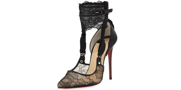 Hotnat di Louboutin, le scarpe effetto lingerie