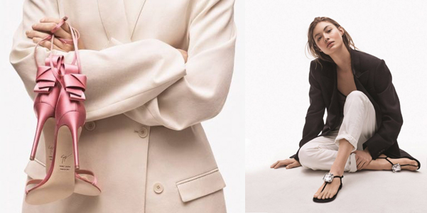 Grace e le scarpe di Giuseppe Zanotti pe 2019