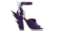 I sandali di Prada tutti fulmini e saette