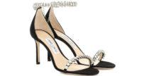 I preziosi sandali Shiloh di Jimmy Choo