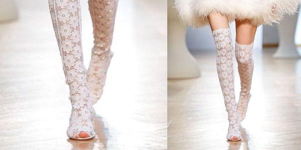 Gli stivali di pizzo di Vivetta