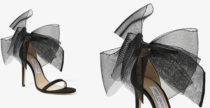 I sandali Aveline di Jimmy Choo sono di tulle