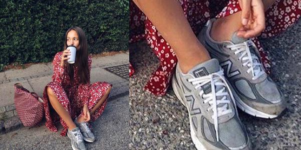 Le sneakers del momento sono grigie