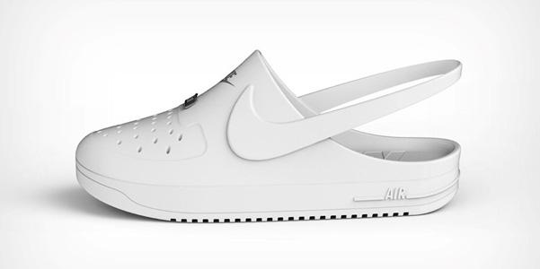 Nike e Crocs insieme? È solo un concept, ma ci piace!